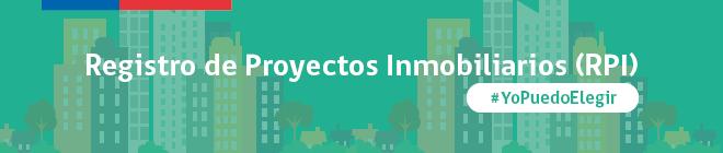 Registro de Proyectos Inmobiliarios (RPI)