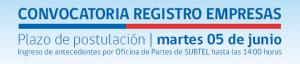 Convocatoria para formar parte del Registro de Empresas prestadoras de servicios de medición referidos a instalaciones de servicios de telecomunicaciones que generan ondas electromagnéticas