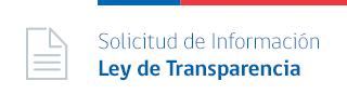 Solicitud de datos Ley de Transparencia