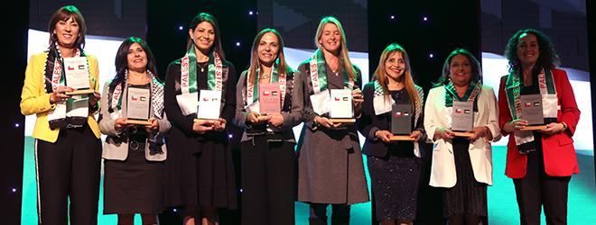 Subsecretaria Pamela Gidi es reconocida por la Comunidad Palestina de Chile