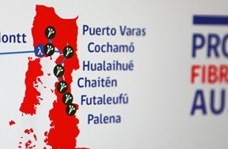 SUBTEL llama a concurso público para troncales terrestres de Aysén y Los Lagos del proyecto Fibra Óptica Austral
