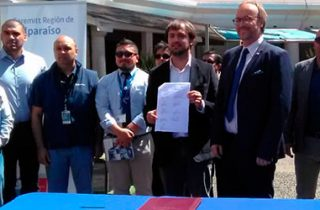 Seremi de Transportes y Telecomunicaciones, Municipio de Valparaíso y empresas del rubro dan inicio a plan de retiro de cables en desuso en la comuna