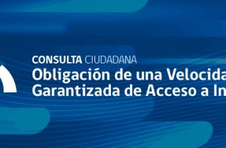 SUBTEL llama a consulta pública para aumentar calidad de servicio en Internet