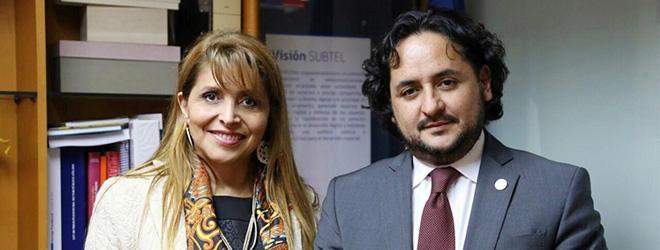 Gobiernos de Chile y Ecuador firman acuerdo de cooperación mutua en telecomunicaciones