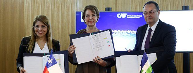 Chile y CAF liderarán el estudio de factibilidad para la primera puerta digital entre Sudamérica y Asia