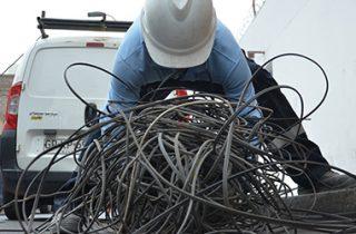 Retiro de Cables