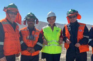 Ministerio de Transportes y Telecomunicaciones presenta proyecto que ampliará cobertura de telefonía e internet en pueblos mineros de Atacama