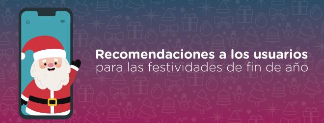 SUBTEL entrega recomendaciones a los usuarios para las festividades de fin de año