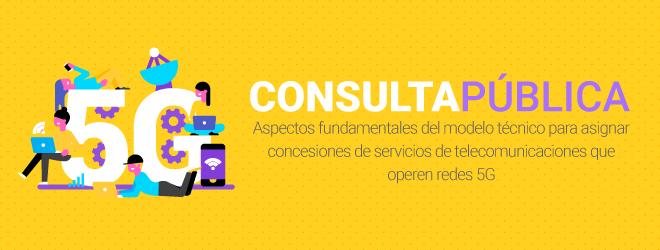 Consulta Pública 5G