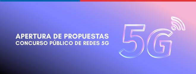 MTT recibe cinco ofertas por concurso público de redes 5G, la tecnología que mejorará la calidad de vida de los chilenos y aumentará la productividad del país