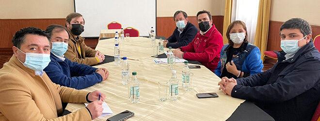 Subsecretario Moreno se reunió con alcaldes de la provincia de Osorno